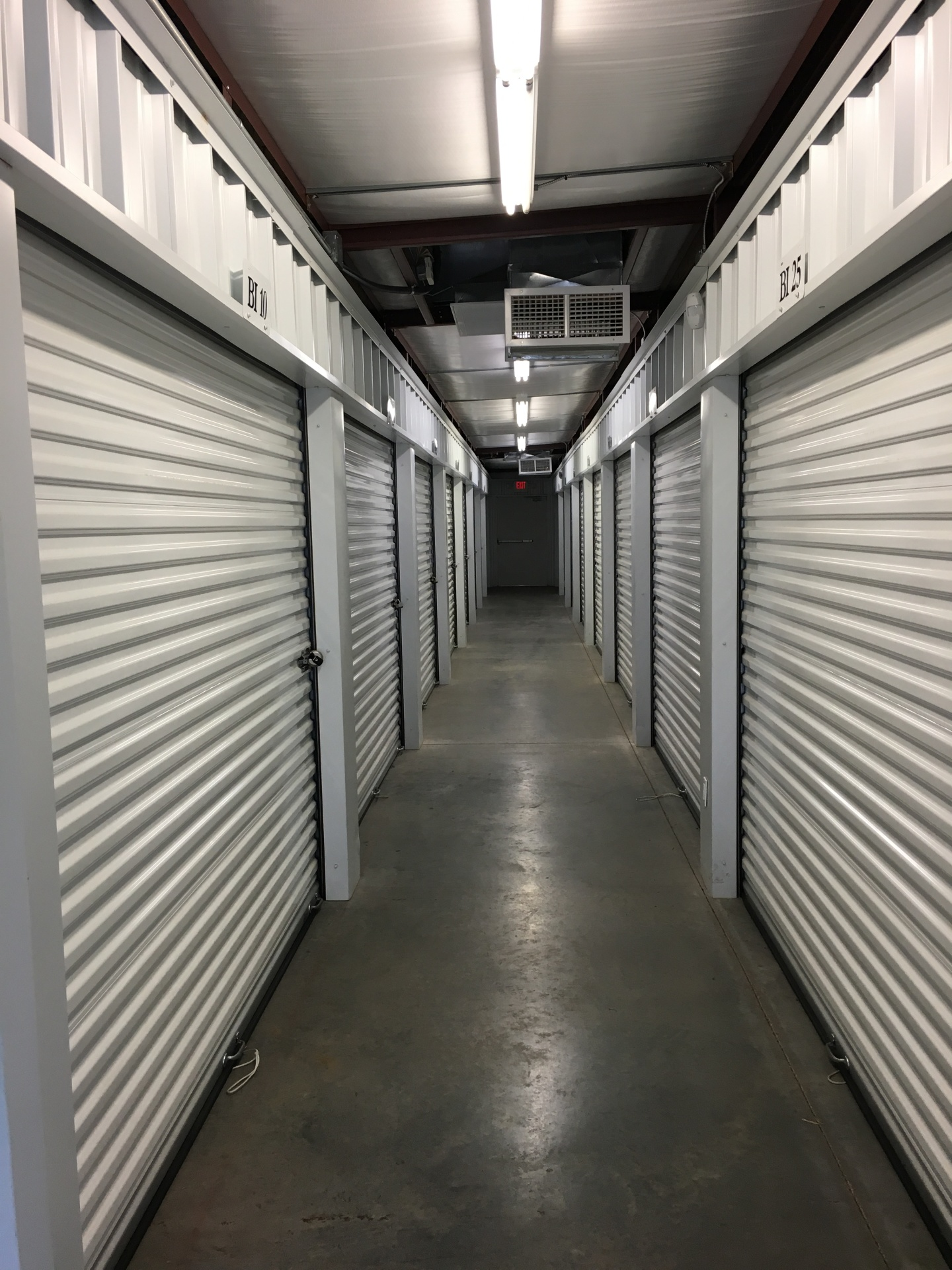 All Around Self Storage Climate Control Units